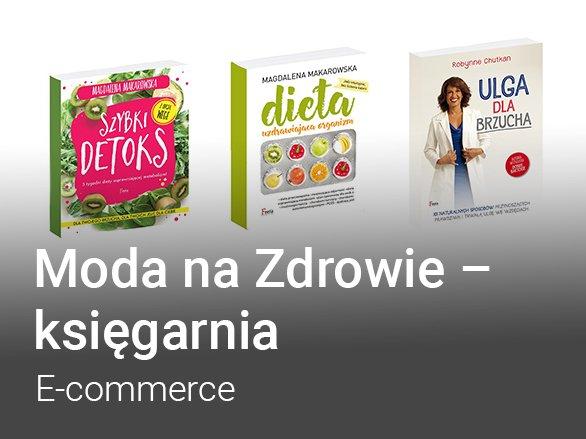 moda na zdrowie - ecommerce