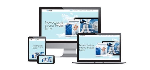 strony internetowe responsywne