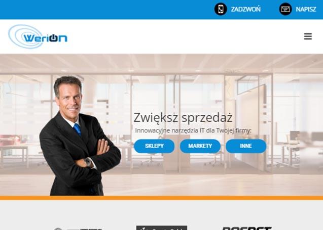 Werion - strona WWW - Rzeszów