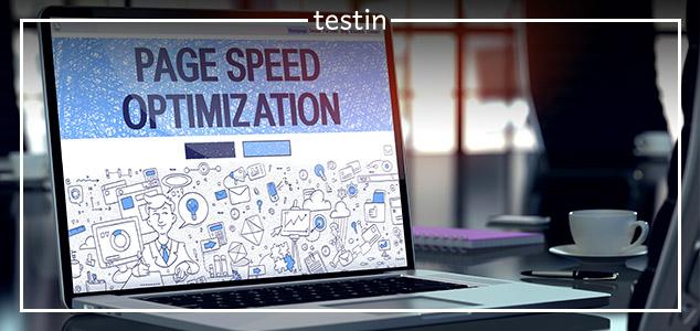 szybkość strony a pozycjonowanie - testin.pl